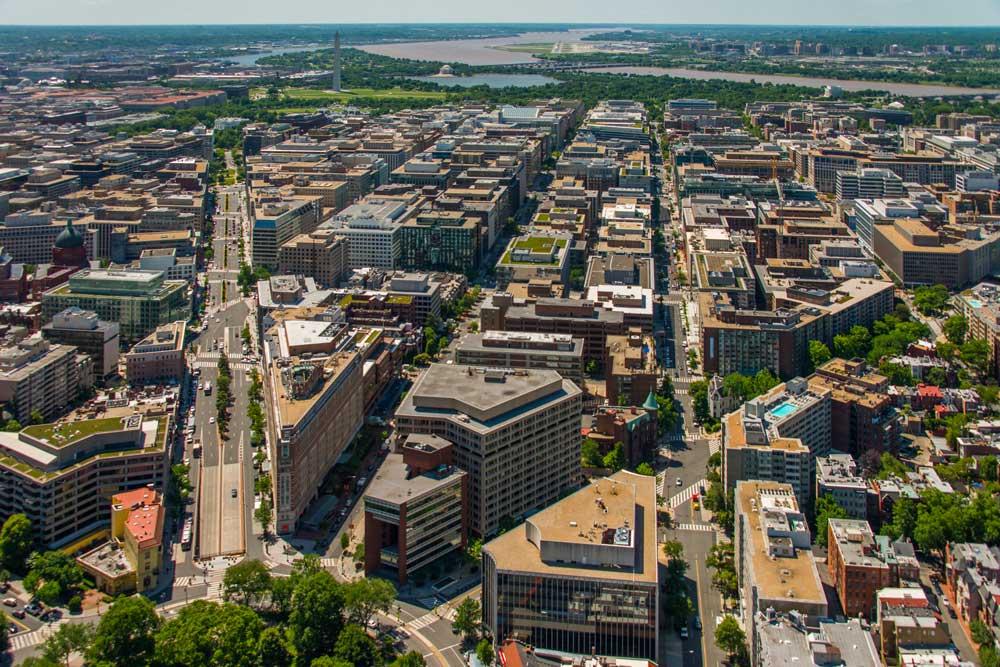 DC Aerial Shot